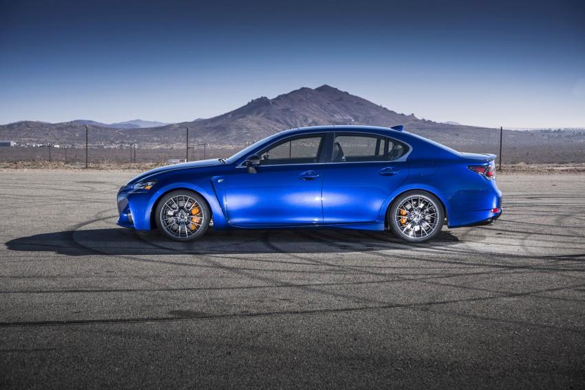 Lexus GS F –  477 PS super sedan makes Detroit debut Image #308256