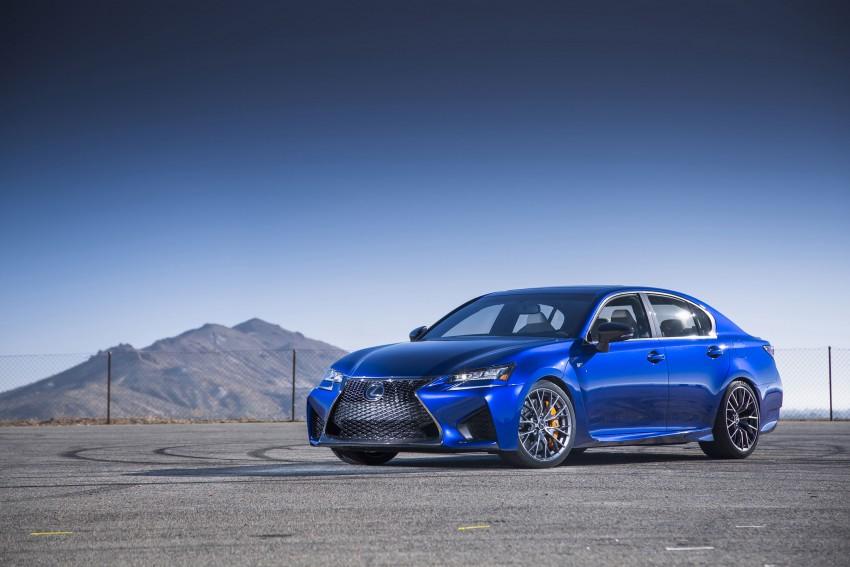 Lexus GS F –  477 PS super sedan makes Detroit debut Image #308259