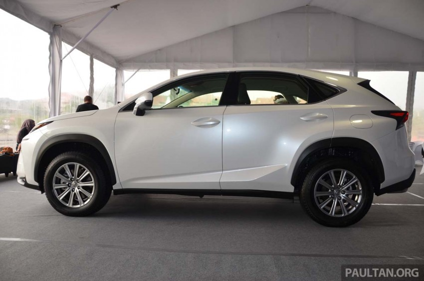 Lexus NX launched in Malaysia, from RM299k-RM385k Image #307690