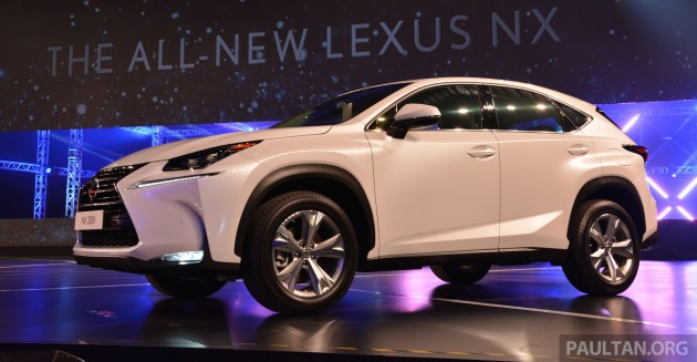lexus nx launched