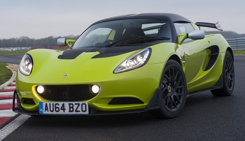 Lotus Elise S Cup – road-going track machine unveiled Image #304523