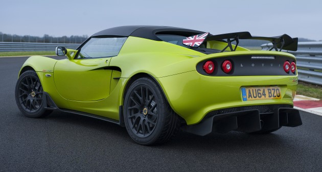 Lotus Elise S Cup - road-going track machine unveiled