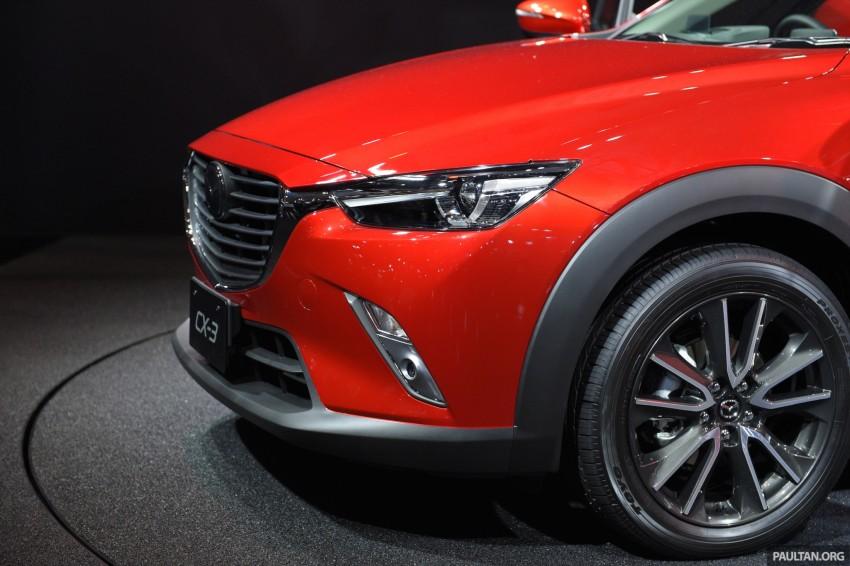 Mazda CX-3 Racing Concept at 2015 Tokyo Auto Salon Image #302026
