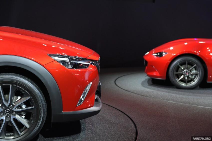 Mazda CX-3 Racing Concept at 2015 Tokyo Auto Salon Image #302017
