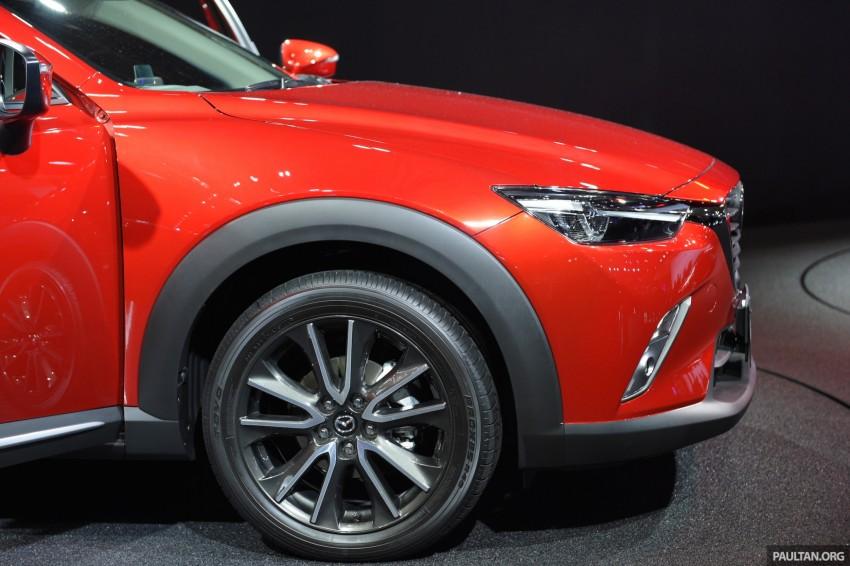 Mazda CX-3 Racing Concept at 2015 Tokyo Auto Salon Image #302018