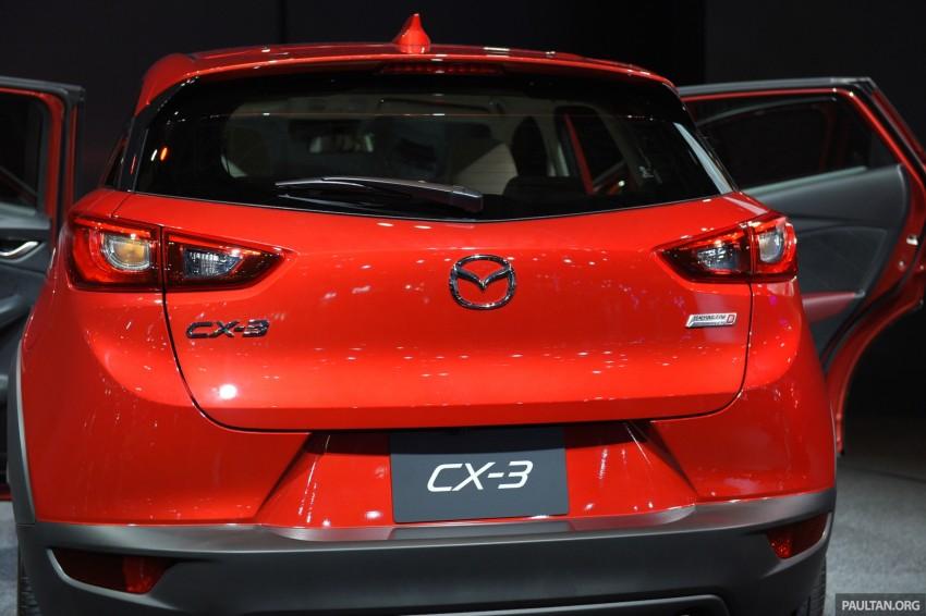 Mazda CX-3 Racing Concept at 2015 Tokyo Auto Salon Image #302033