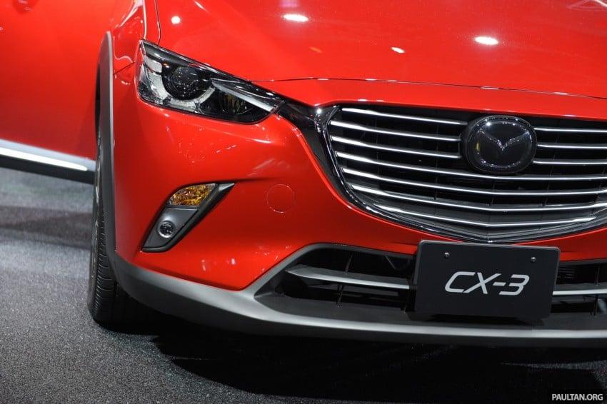 Mazda CX-3 Racing Concept at 2015 Tokyo Auto Salon Image #302021