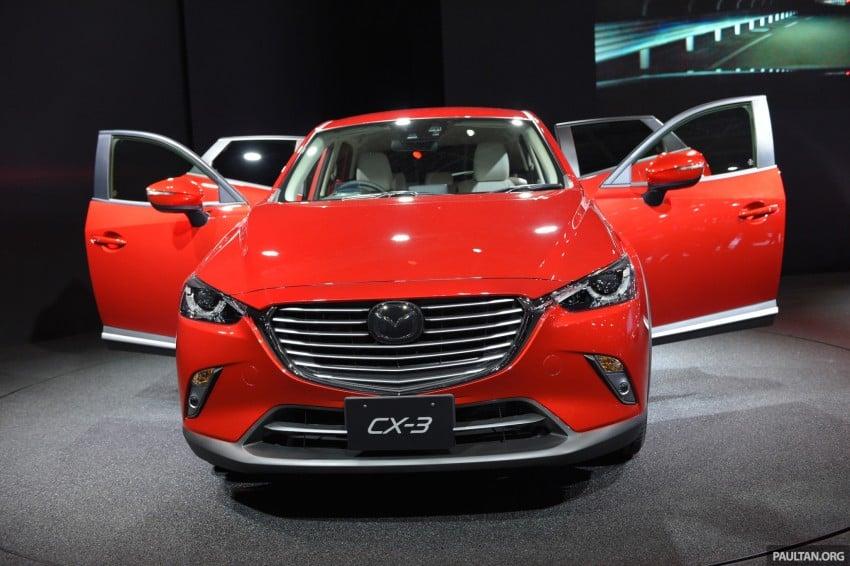 Mazda CX-3 Racing Concept at 2015 Tokyo Auto Salon Image #302022