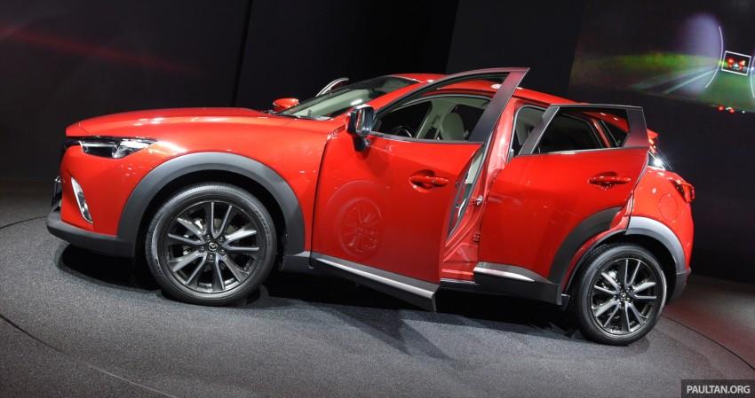 Mazda CX-3 Racing Concept at 2015 Tokyo Auto Salon Image #302024