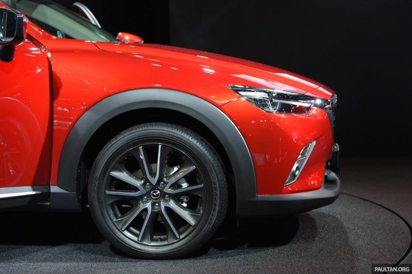 Mazda CX-3 Racing Concept at 2015 Tokyo Auto Salon Image #302039