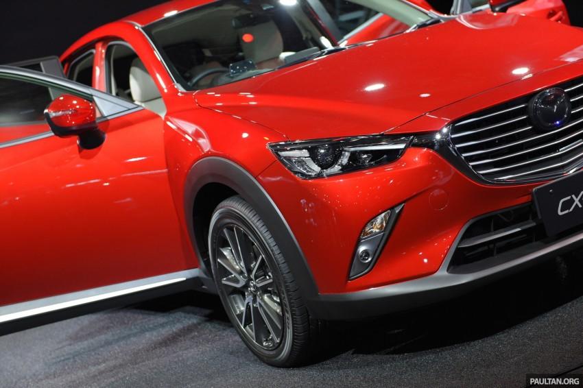 Mazda CX-3 Racing Concept at 2015 Tokyo Auto Salon Image #302042