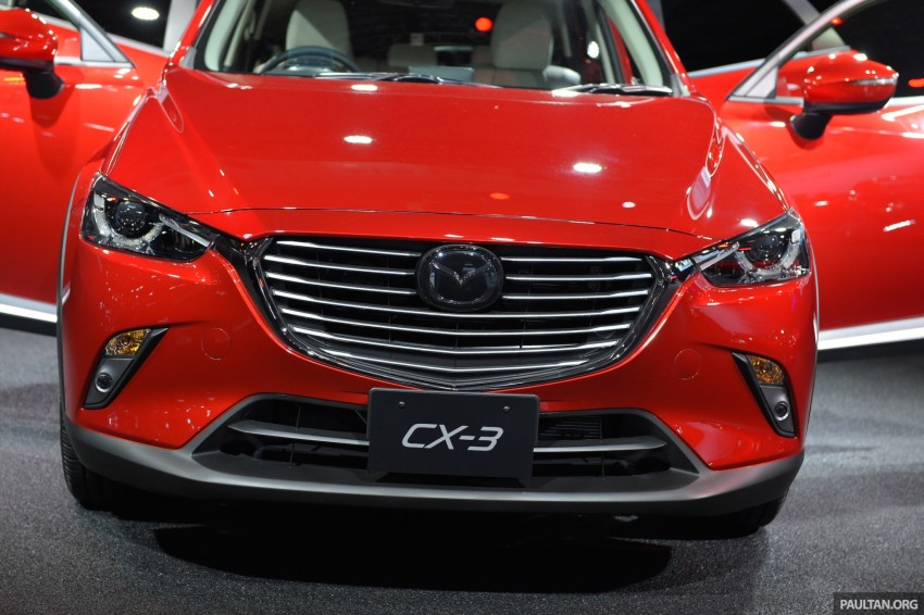 Mazda CX-3 Racing Concept at 2015 Tokyo Auto Salon Image #302043