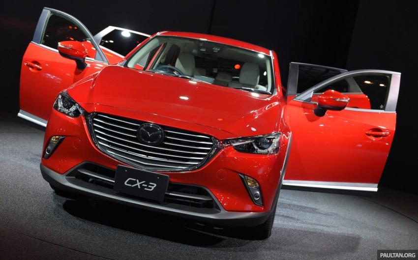 Mazda CX-3 Racing Concept at 2015 Tokyo Auto Salon Image #302044