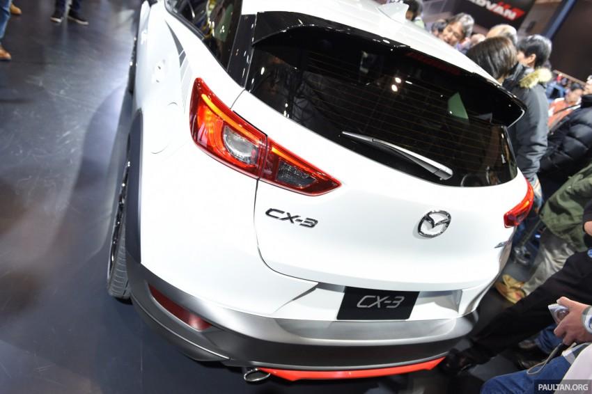 Mazda CX-3 Racing Concept at 2015 Tokyo Auto Salon Image #302051