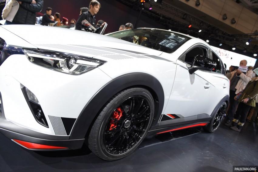Mazda CX-3 Racing Concept at 2015 Tokyo Auto Salon Image #302058