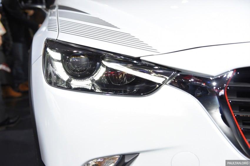 Mazda CX-3 Racing Concept at 2015 Tokyo Auto Salon Image #302082