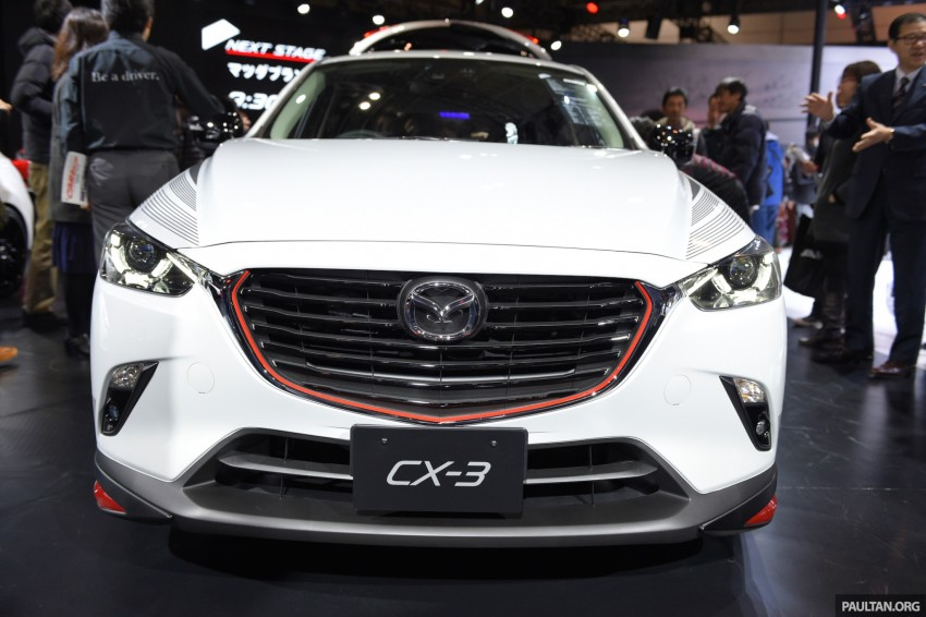 Mazda CX-3 Racing Concept at 2015 Tokyo Auto Salon Image #302084