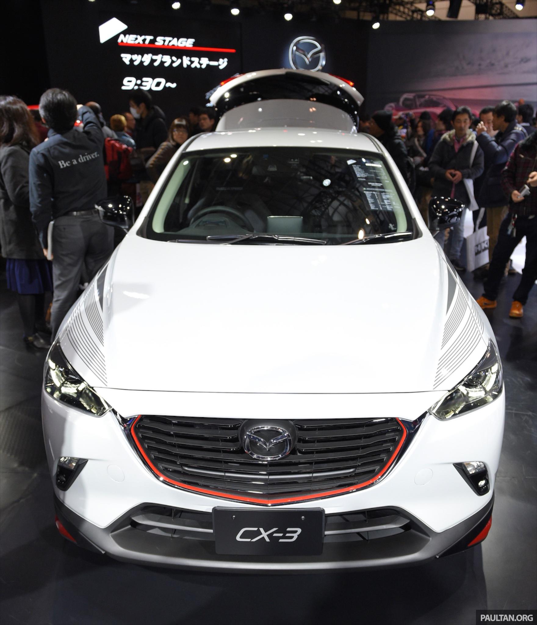 Mazda Cx 3 >> Mazda CX-3 Racing Concept at 2015 Tokyo Auto Salon Image 302085