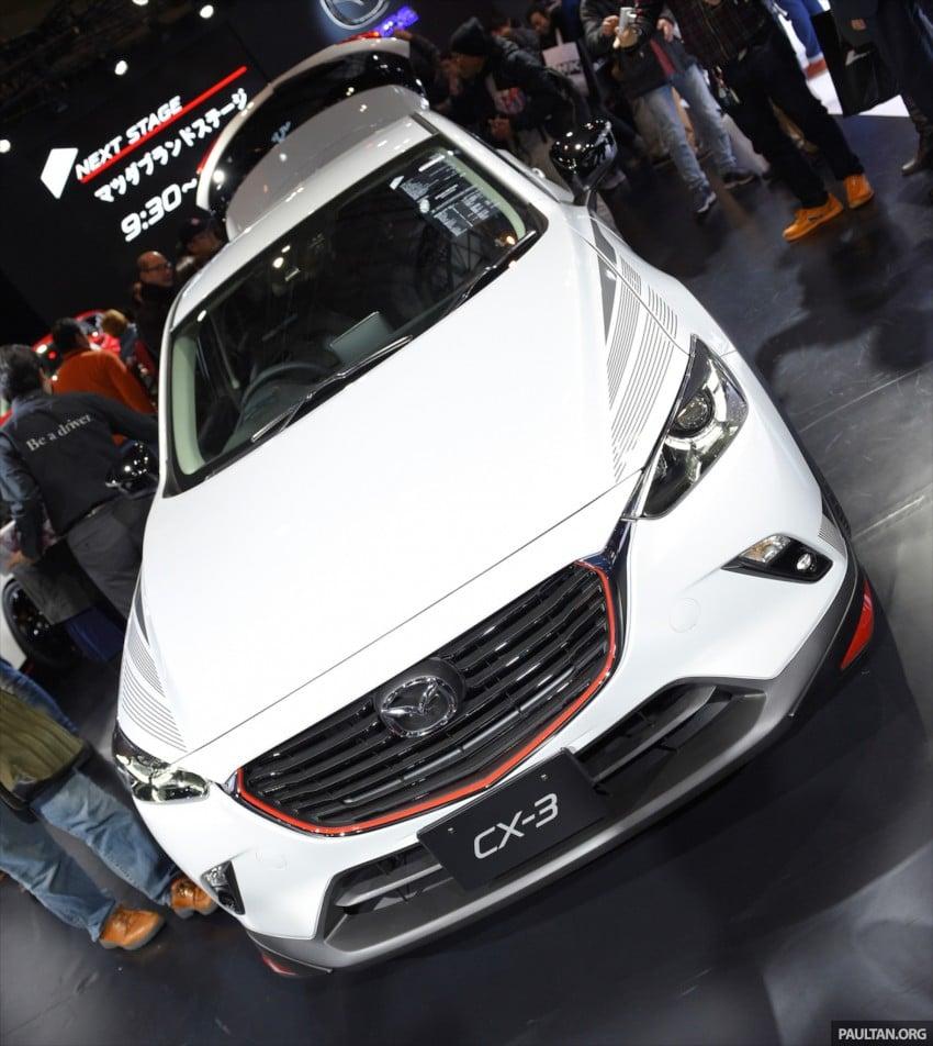Mazda CX-3 Racing Concept at 2015 Tokyo Auto Salon Image #302086