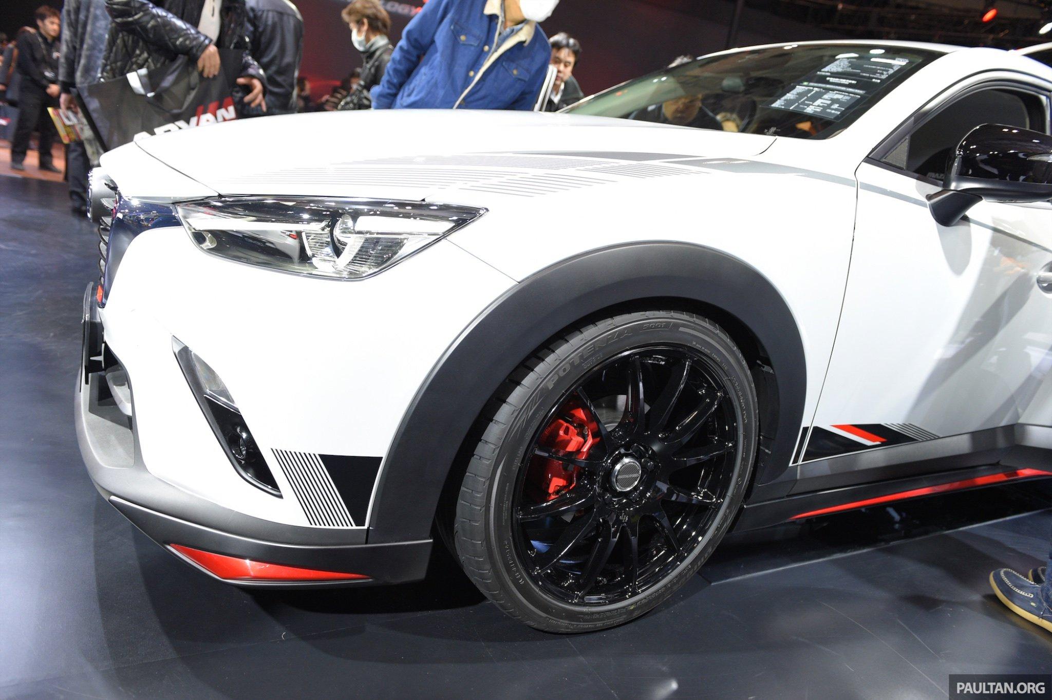 mazda cx 3 racing concept at 2015 tokyo auto salon paul. Black Bedroom Furniture Sets. Home Design Ideas