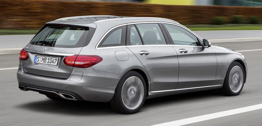 Mercedes-Benz C 350 Plug-In Hybrid debuts with 2.0 turbo engine, electric motor and lithium ion battery Image #302471