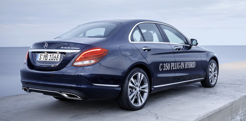 Mercedes-Benz C 350 Plug-In Hybrid debuts with 2.0 turbo engine, electric motor and lithium ion battery Image #302475