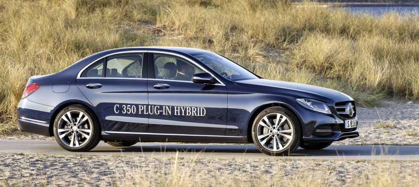 Mercedes-Benz C 350 Plug-In Hybrid debuts with 2.0 turbo engine, electric motor and lithium ion battery Image #302479