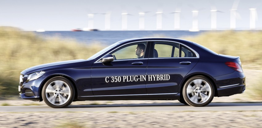 Mercedes-Benz C 350 Plug-In Hybrid debuts with 2.0 turbo engine, electric motor and lithium ion battery Image #302480