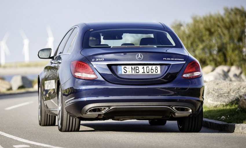 Mercedes-Benz C 350 Plug-In Hybrid debuts with 2.0 turbo engine, electric motor and lithium ion battery Image #302481
