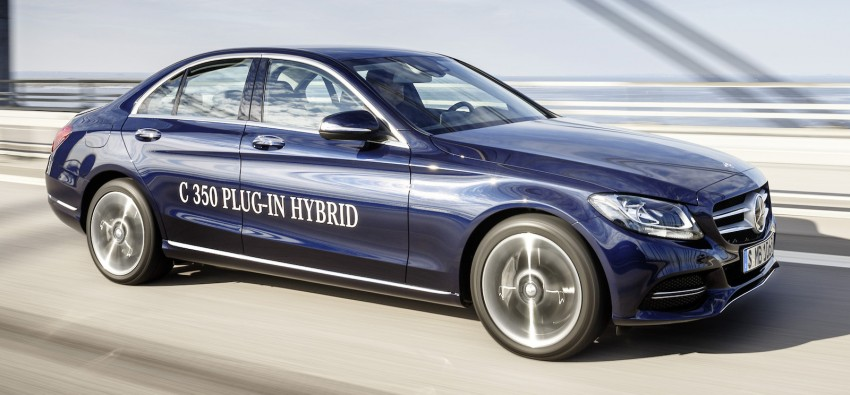 Mercedes-Benz C 350 Plug-In Hybrid debuts with 2.0 turbo engine, electric motor and lithium ion battery Image #302482