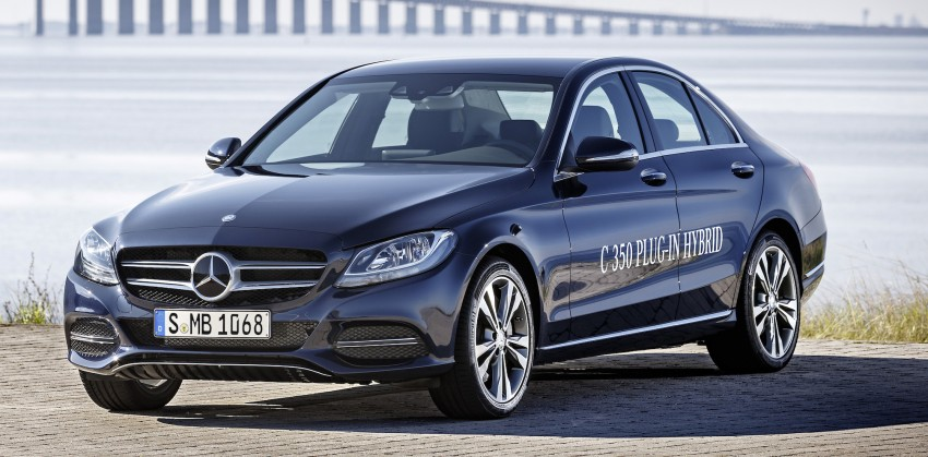 Mercedes-Benz C 350 Plug-In Hybrid debuts with 2.0 turbo engine, electric motor and lithium ion battery Image #302484