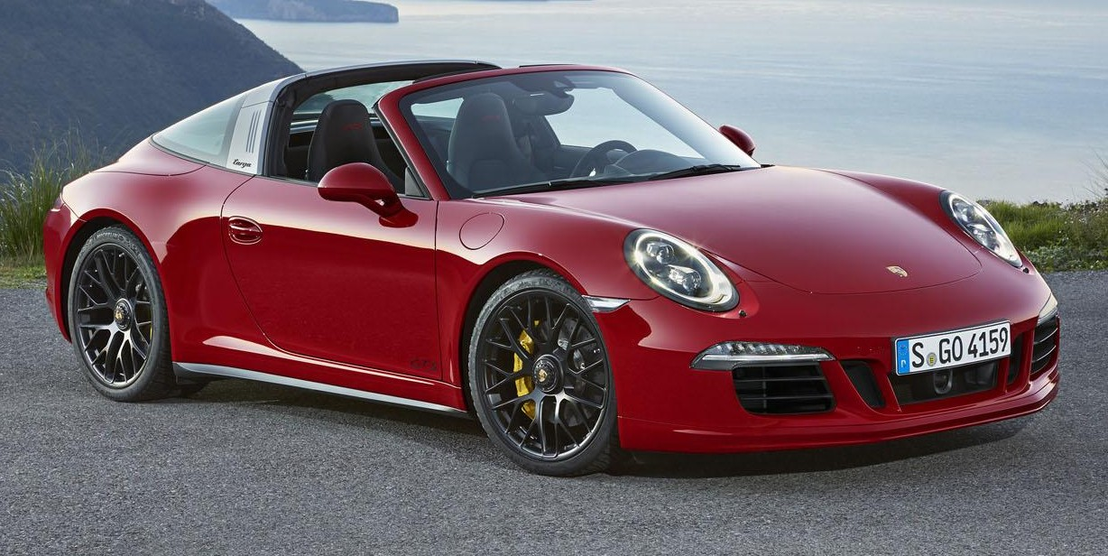 porsche 911 targa 4 gts drops its top at 2015 naias image 302774. Black Bedroom Furniture Sets. Home Design Ideas
