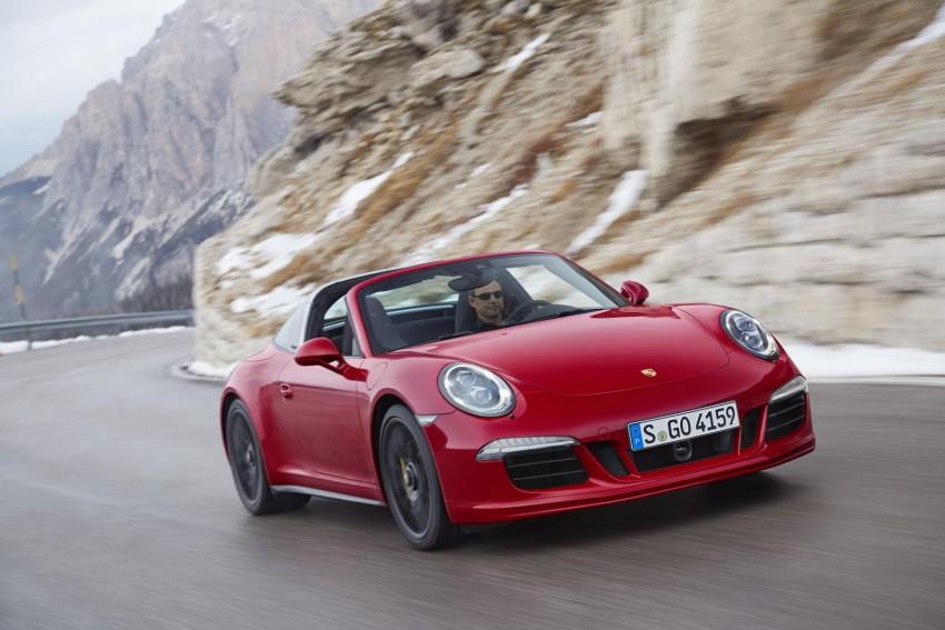 Porsche 911 Targa 4 GTS drops its top at 2015 NAIAS Image #302780