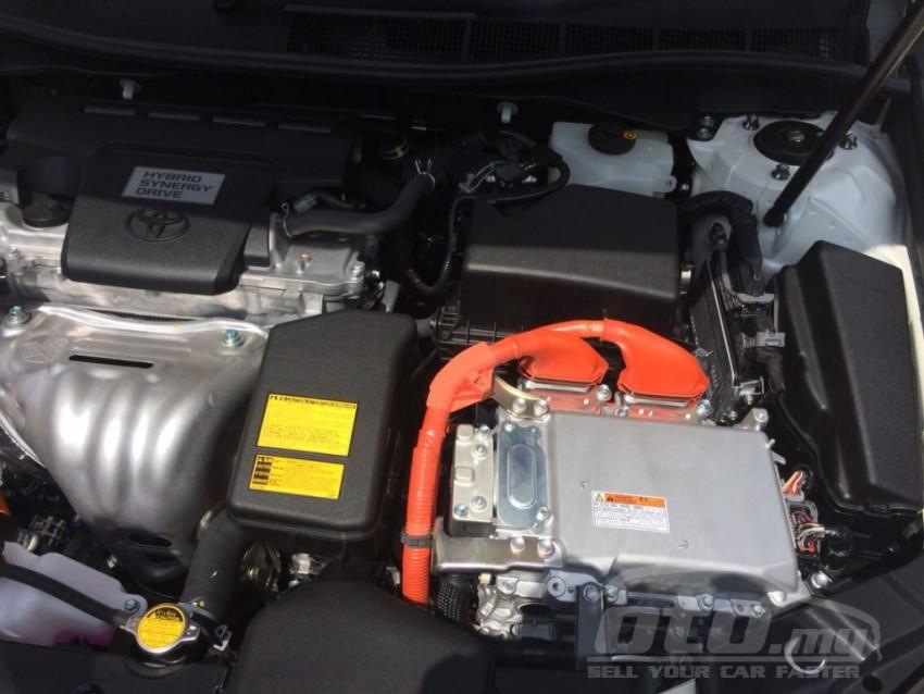 Toyota Camry Hybrid facelift on <em>oto.my</em> – RM200k? Image #305270