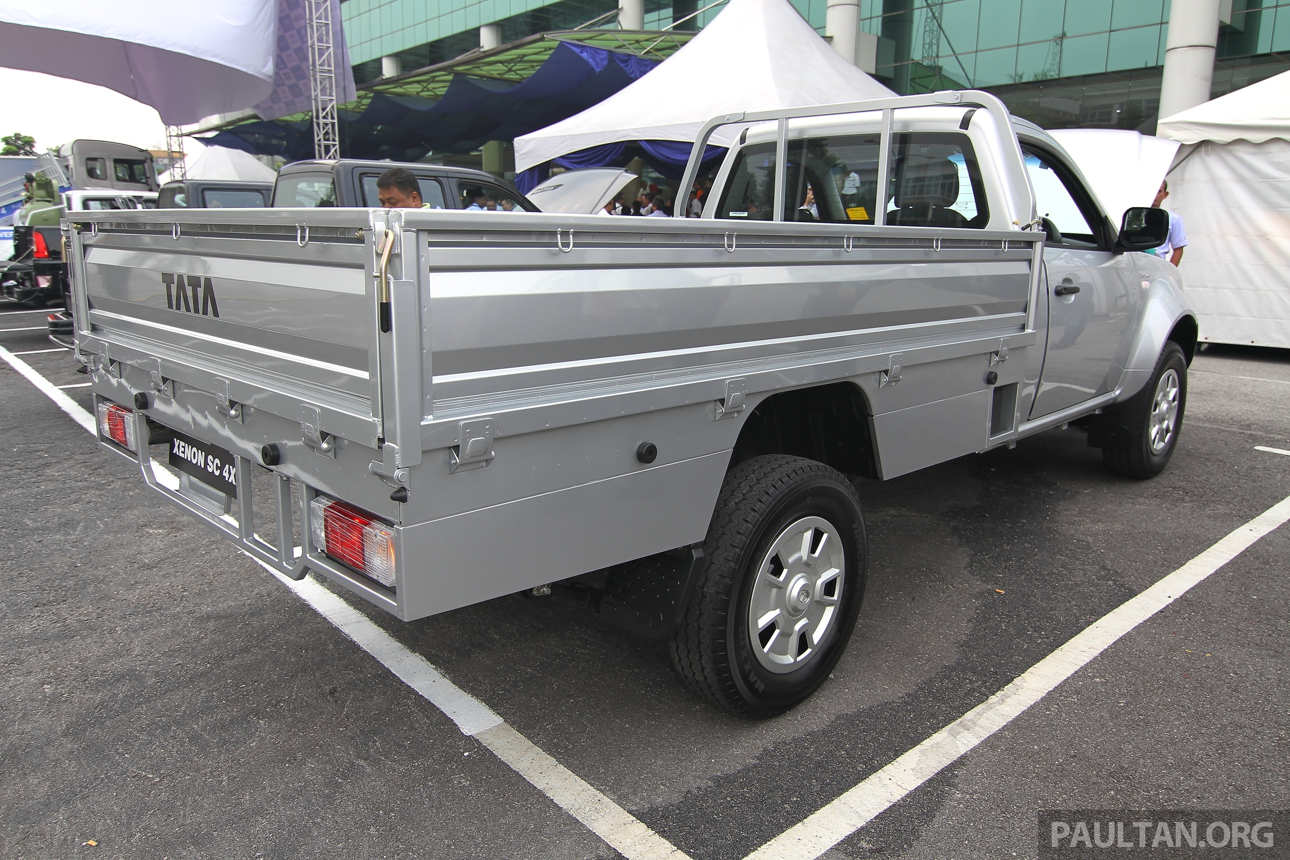 Used Trucks For Sale >> Tata Xenon debuts in Malaysia for commercial use, Tata Prima prime mover available from RM270k ...