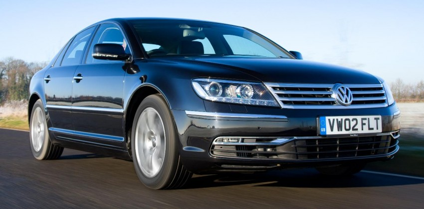 2017 Volkswagen Phaeton to ride better than S-Class? Image #301045