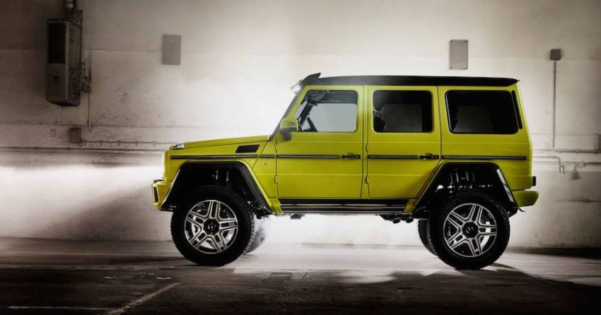 Mercedes-Benz G500 4×4² debuts – 'near-production' Image #315620