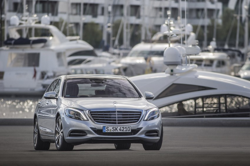 DRIVEN: W222 Mercedes-Benz S 500 Plug-in Hybrid Image #313183