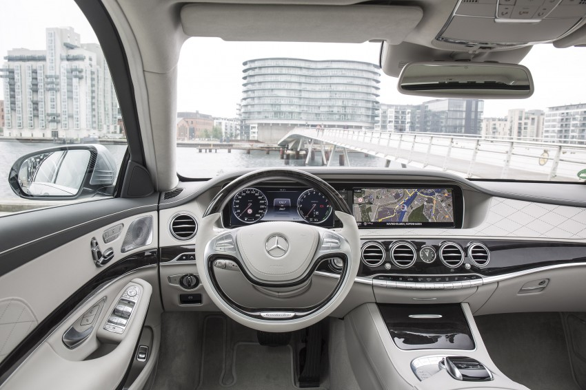 DRIVEN: W222 Mercedes-Benz S 500 Plug-in Hybrid Image #313184