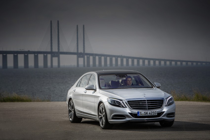 DRIVEN: W222 Mercedes-Benz S 500 Plug-in Hybrid Image #313186