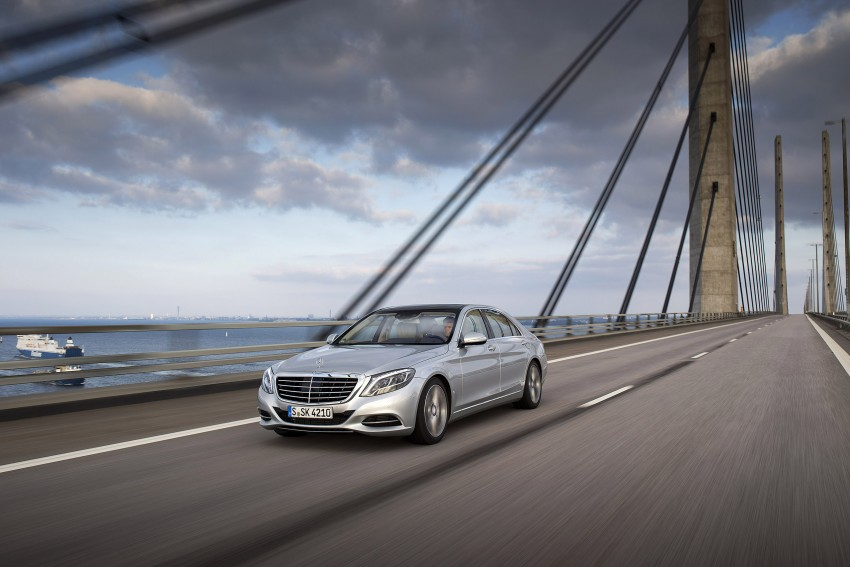 DRIVEN: W222 Mercedes-Benz S 500 Plug-in Hybrid Image #313192