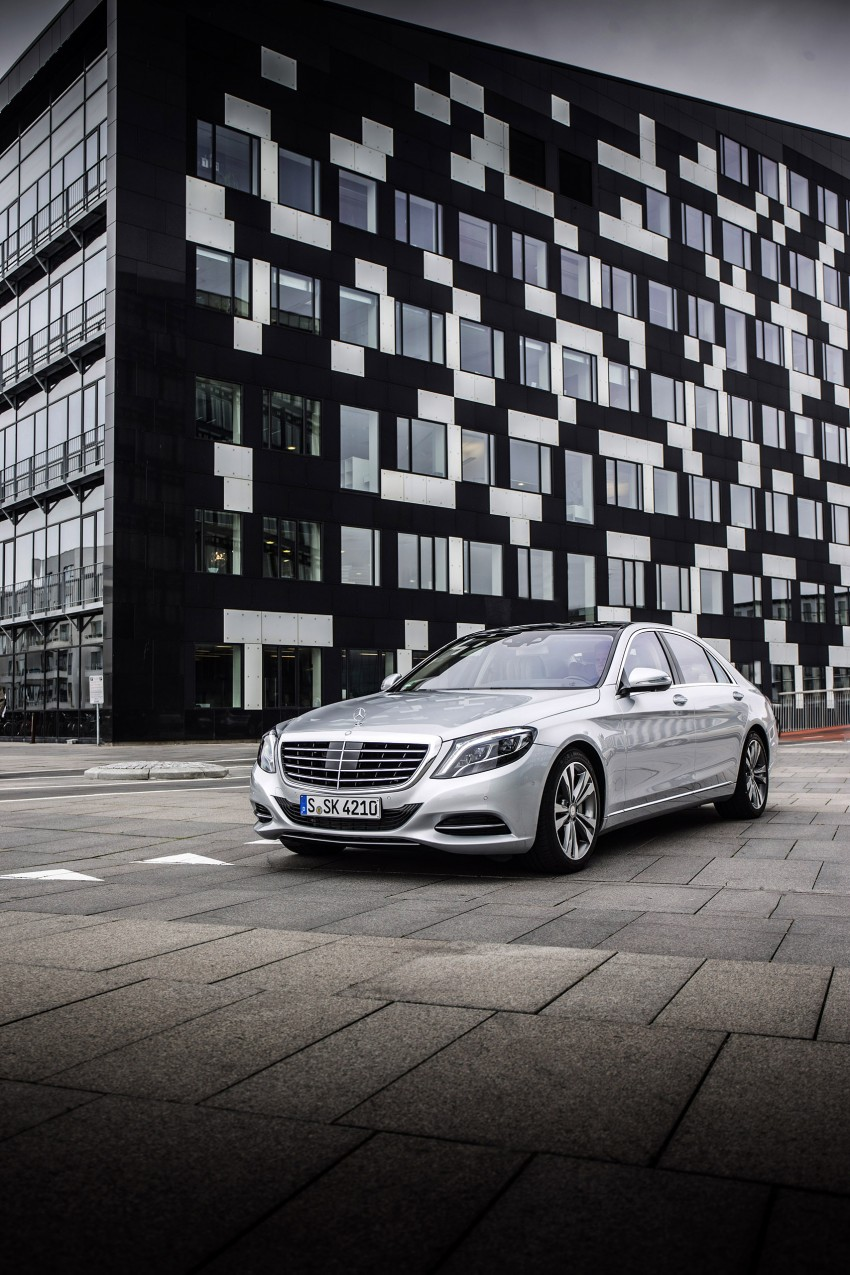 DRIVEN: W222 Mercedes-Benz S 500 Plug-in Hybrid Image #313201