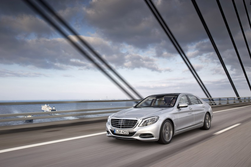 DRIVEN: W222 Mercedes-Benz S 500 Plug-in Hybrid Image #313205