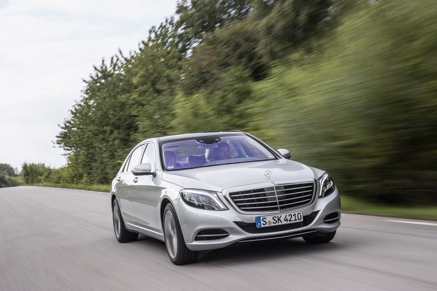 DRIVEN: W222 Mercedes-Benz S 500 Plug-in Hybrid Image #313210