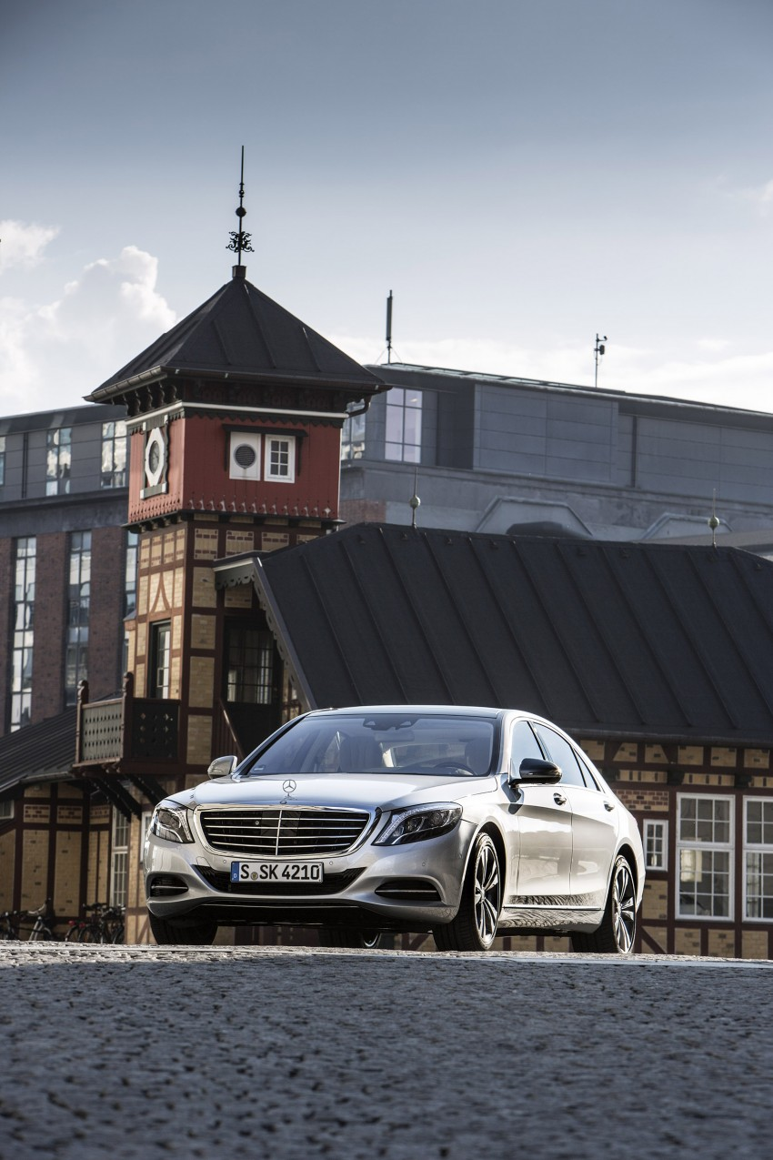 DRIVEN: W222 Mercedes-Benz S 500 Plug-in Hybrid Image #313212