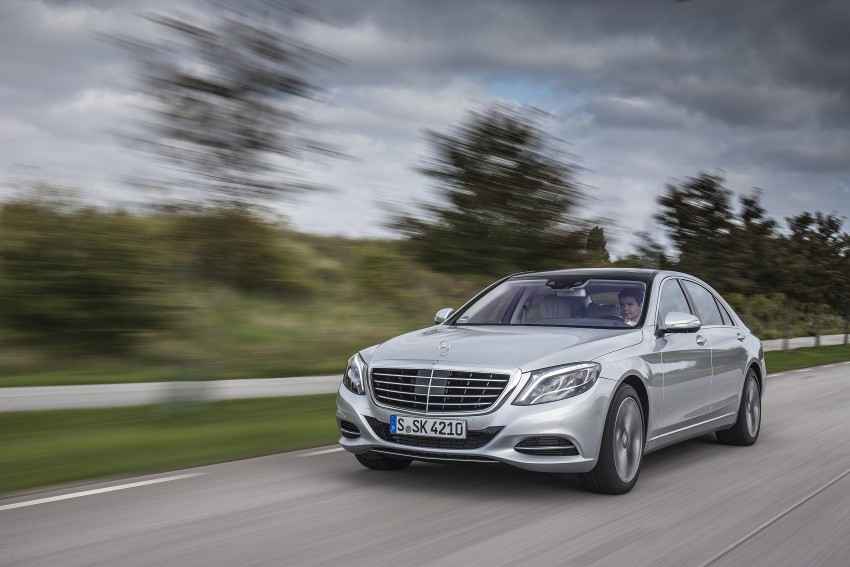 DRIVEN: W222 Mercedes-Benz S 500 Plug-in Hybrid Image #313213
