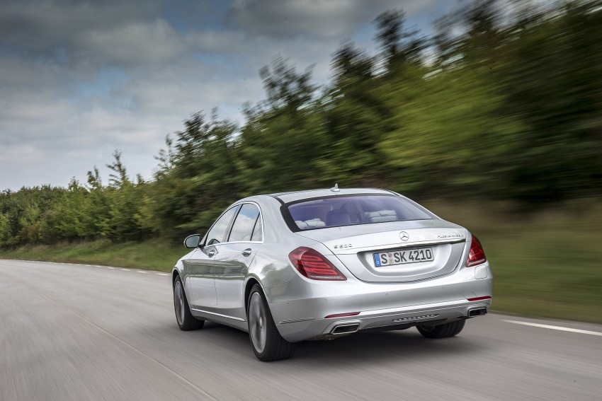 DRIVEN: W222 Mercedes-Benz S 500 Plug-in Hybrid Image #313214