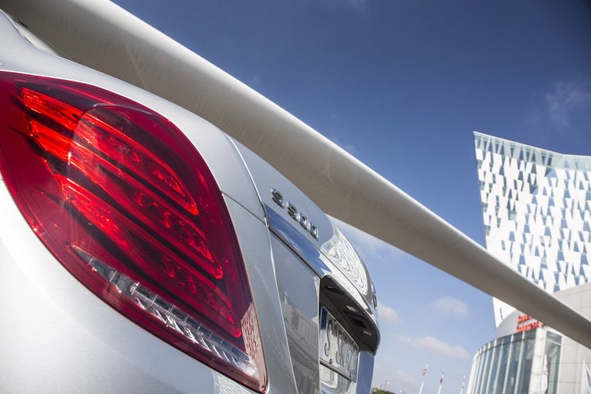 DRIVEN: W222 Mercedes-Benz S 500 Plug-in Hybrid Image #313215