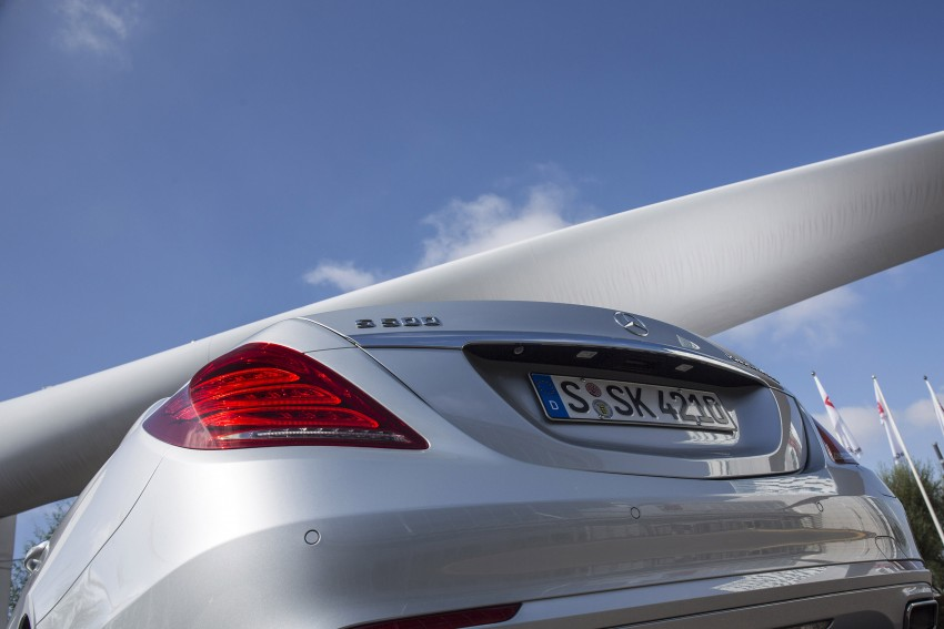 DRIVEN: W222 Mercedes-Benz S 500 Plug-in Hybrid Image #313216