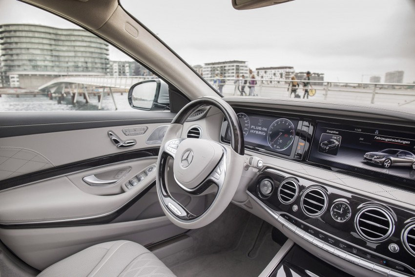 DRIVEN: W222 Mercedes-Benz S 500 Plug-in Hybrid Image #313220